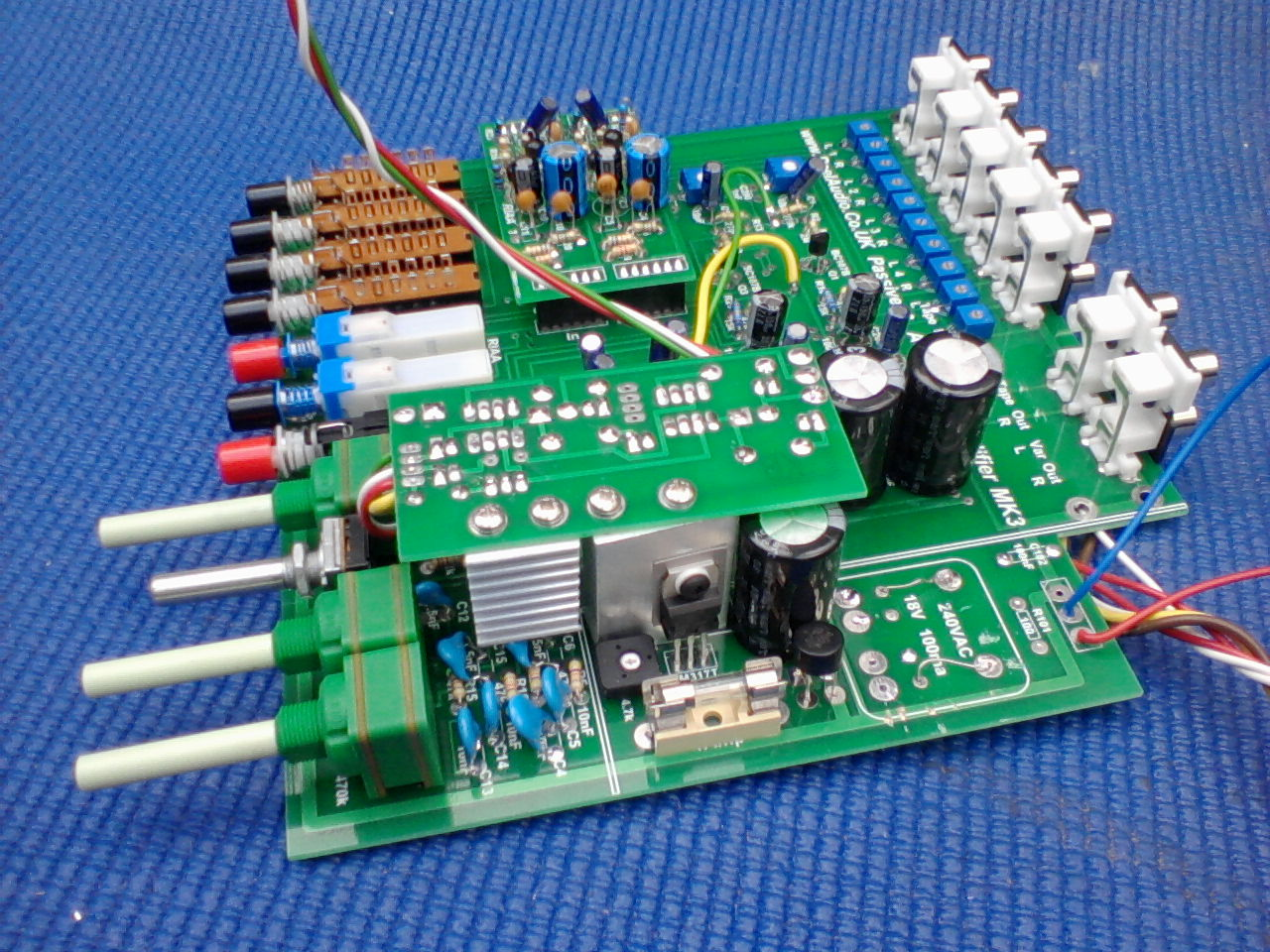 Headphone Amplifier Board