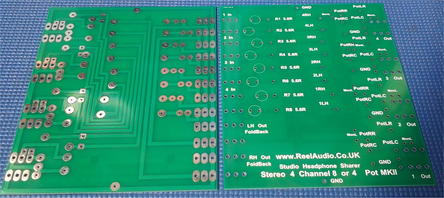 Custom 4 Channel Circuit Boards