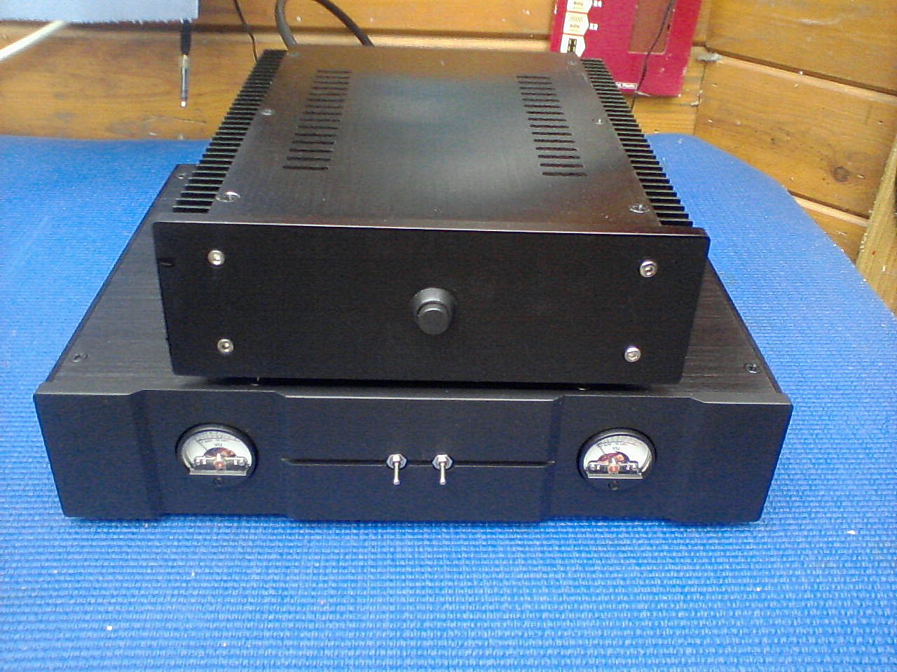 "MKIV Quad 405 Clone Dual Case ""Darth Vader"" Version"