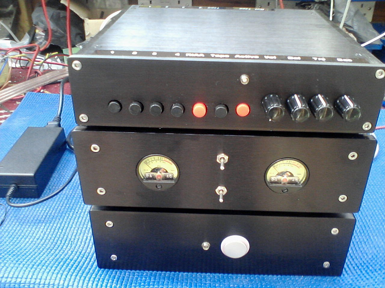 L10 Stereo Power Amplifier with PA2205 Passive and Active PreAmplifier