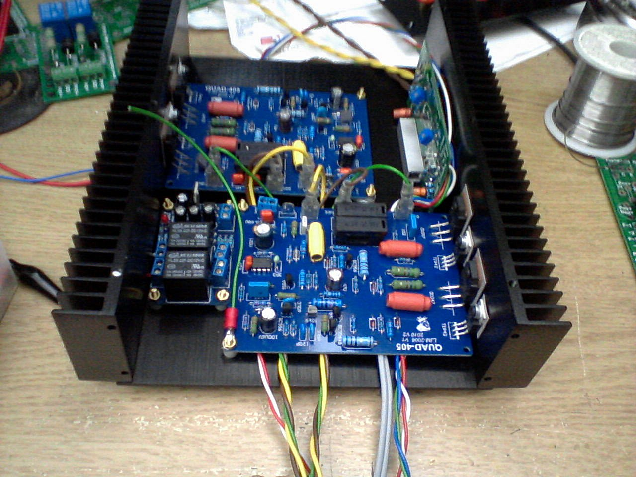 Latest Versions improved PSU components and Wiring harness