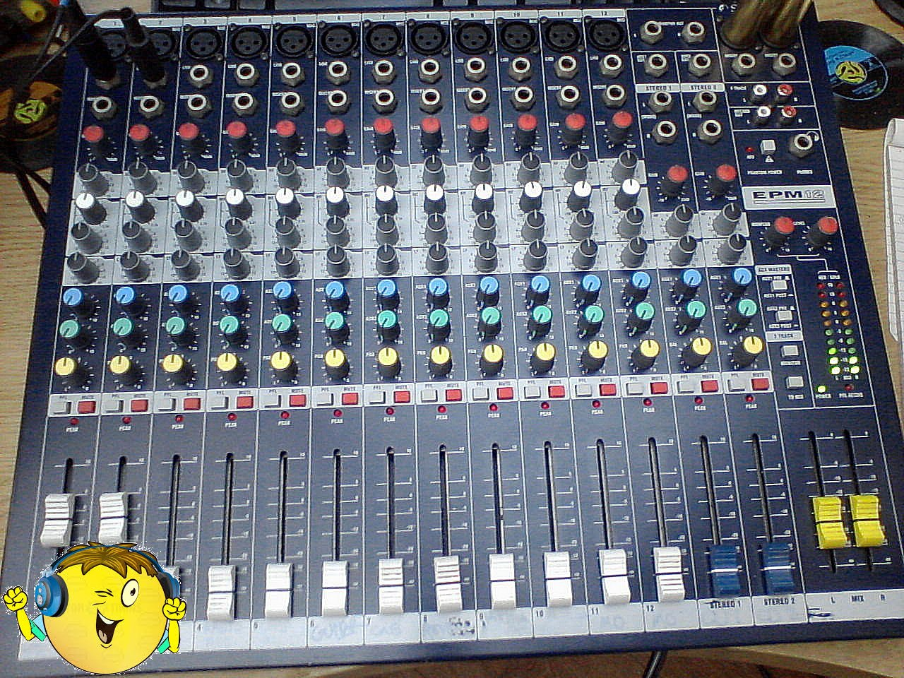 Once Checked - reconstruct the entire Mixer and go Gigging