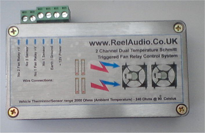 2 Channel Dual Temperature Controller